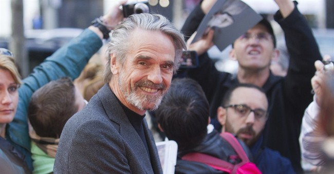 "Jeremy Irons talks ""Batman"" and the merits of growing old"