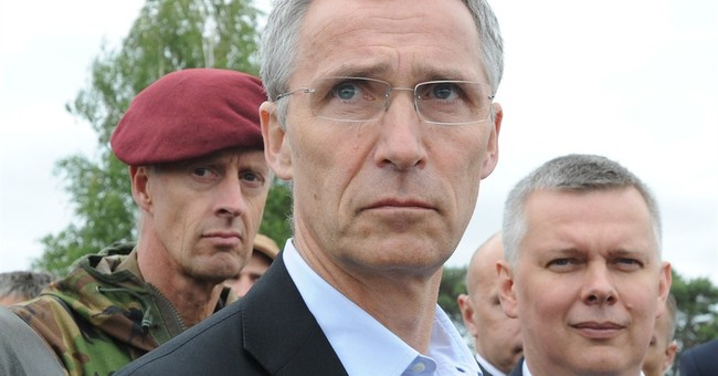 NATO chief: 'We will not be dragged into arms race'