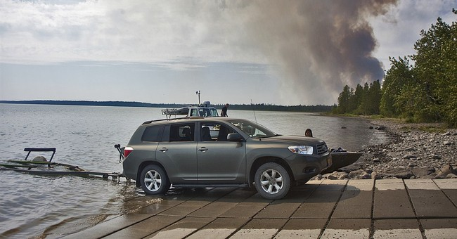 Alaska gets help from lower 48 states in fighting wildfires