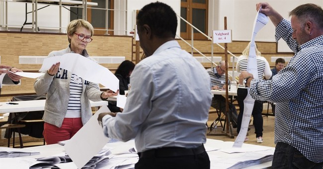 Denmark's center-right opposition wins election