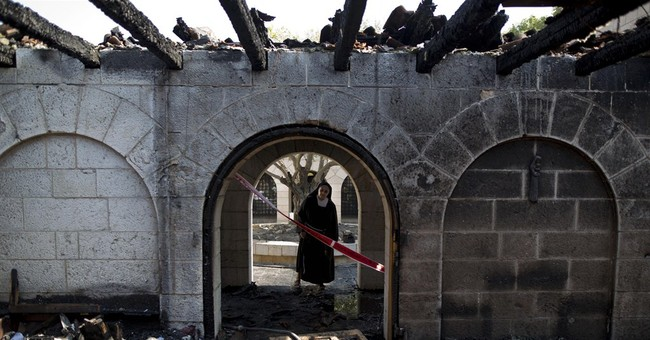 Israel church set ablaze in possible Jewish extremist attack