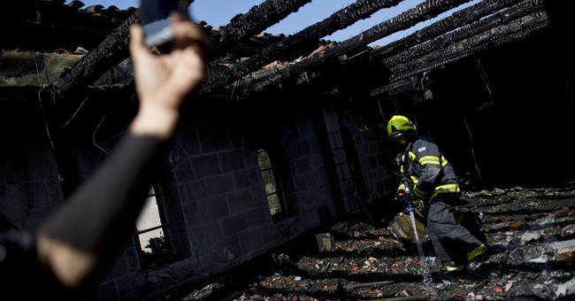 Israel church set ablaze in possible Jewish extremist attack