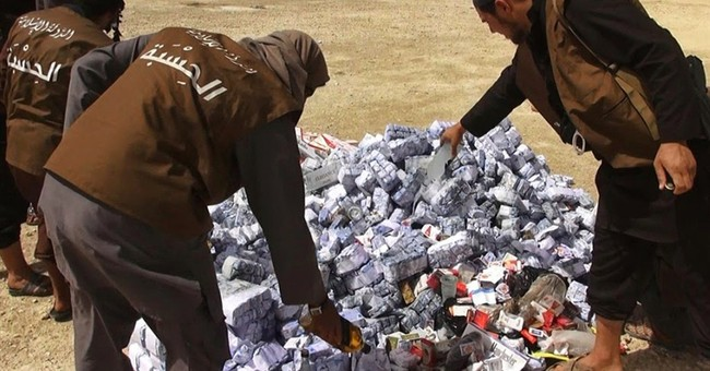 For cigarette smuggler, a perilous life under Islamic State