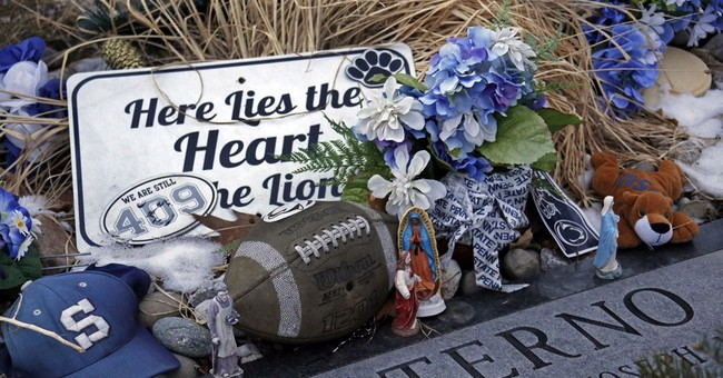 409 is small part of part of Paterno's complicated legacy