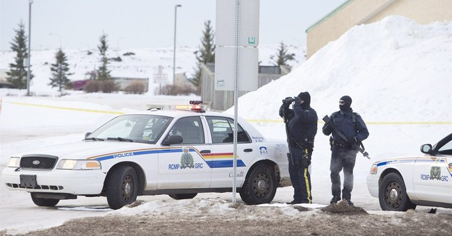 2 Mounties shot, in hospital, suspect found dead in Alberta