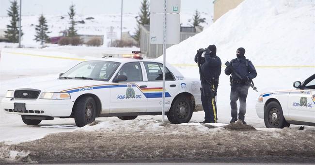 2 Mounties shot, in hospital, suspect found dead in Alberta