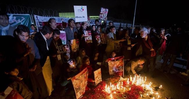 Afghan officials say 5 arrested for Pakistan school massacre