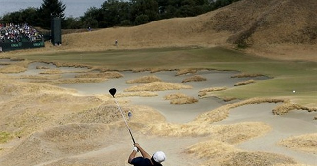 The Latest: Second round at US Open in the books