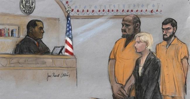 Men accused in terror plot to kill blogger plead not guilty
