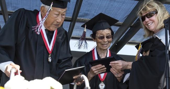 World War II internees finally get high school graduation