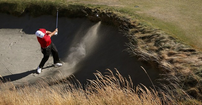 Spieth, Reed share US Open lead at Chambers Bay