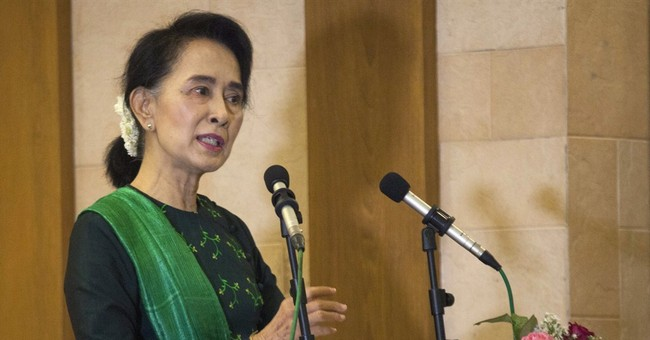 Suu Kyi warns instability could delay Myanmar elections