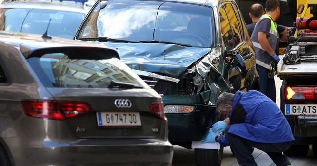 Man runs car into crowd in Austria, killing 3, injuring 34