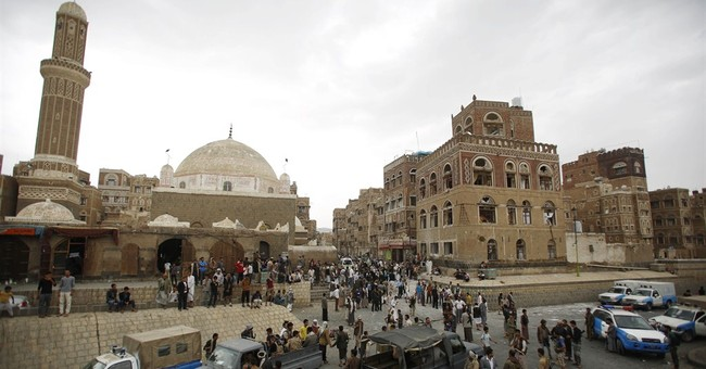 Islamic State-claimed car bombing kills 2 in Yemen's capital