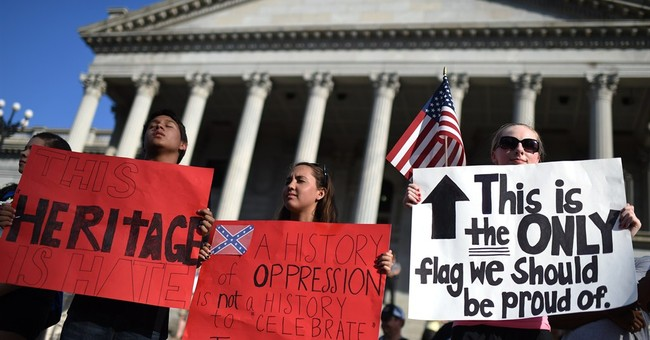 History of the Confederate flag on Statehouse grounds