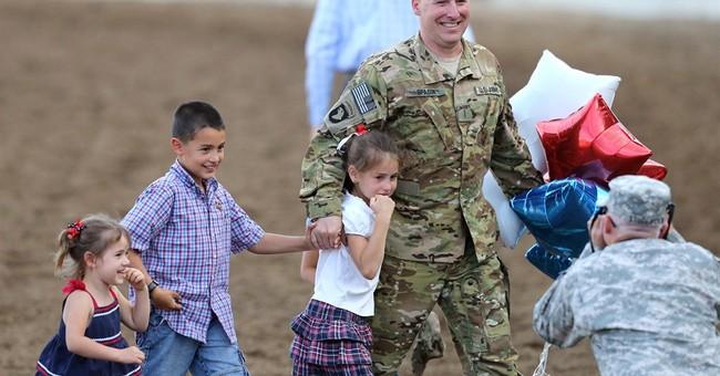National Guardsman surprises his 6 children at Nevada rodeo