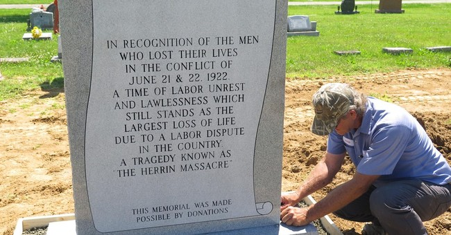 Illinois town honors coal miners killed in 1922 massacre