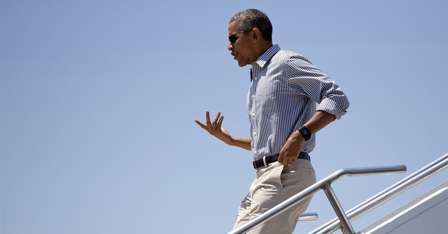 Obama spending Father's Day weekend at golf destination