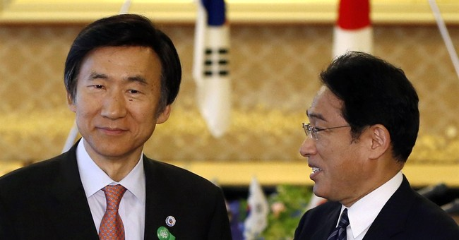 Not friends yet, but Japan and South Korea are talking