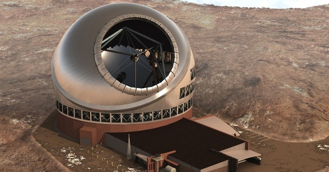 Protesters block construction of giant Hawaii telescope