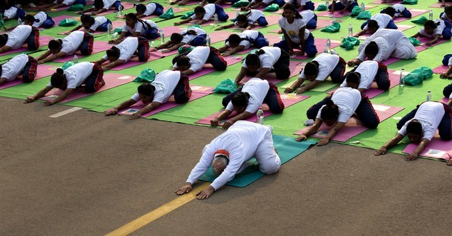 Millions across India, world take part in Yoga Day exercises