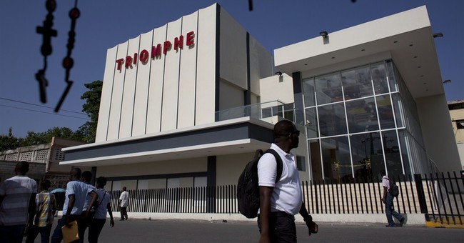 Haiti's capital gets 1st movie theater in years