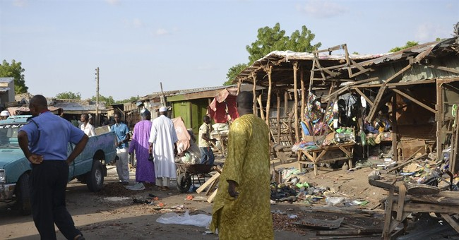 30 killed in northeast Nigeria by 2 girl suicide bombers