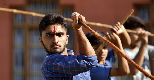 Image of Asia: Learning self-defense in Indian border region