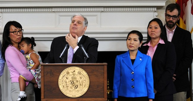 Maryland governor says he first detected tumor while shaving