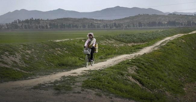 AP PHOTOS: N. Korean farmers await rains as drought lingers