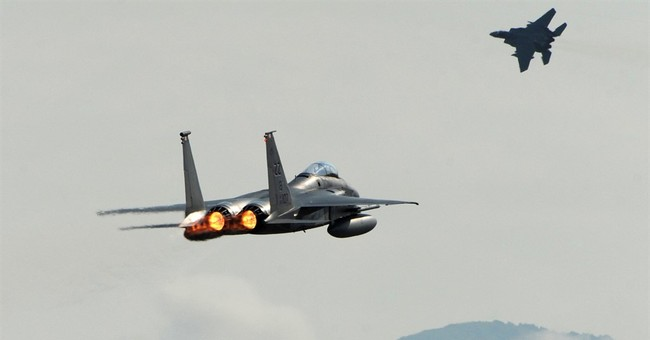 Military conducting large exercise over Alaska