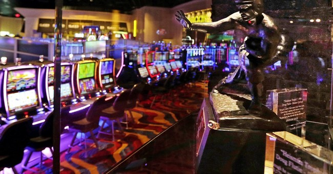 Massachusetts' first slots parlor is open for business