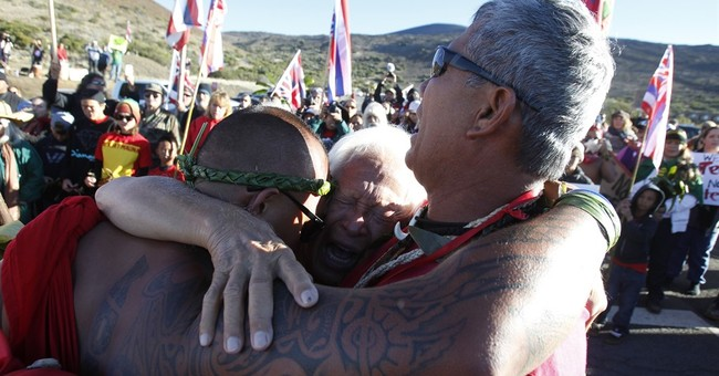 The Latest: 12 arrested in Hawaii telescope protest