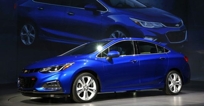 New Chevy Cruze gets bigger and roomier with more power