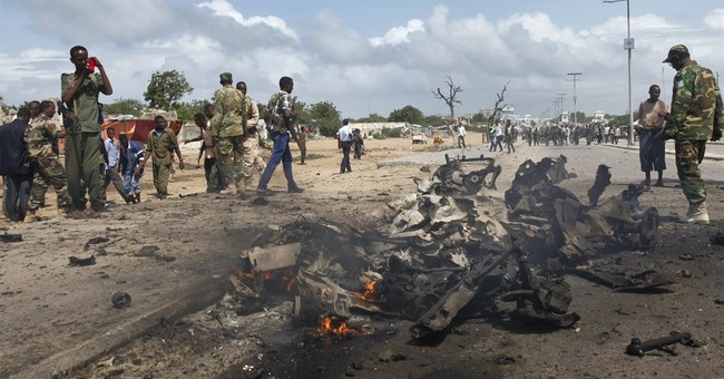 Police: 9 killed in bomb blast in the Somali capital