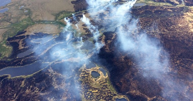 Wildfires blister Alaska with increased frequency, intensity