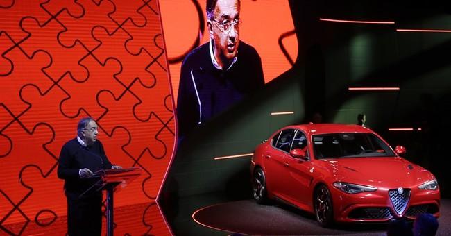 Alfa Romeo unveils flagship sedan as it eyes US market