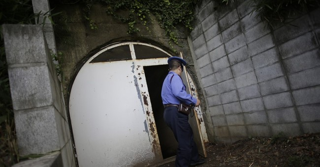 Japan's secret navy bunker gives glimpse of war's final days