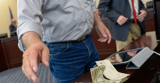 Officials donate cash for Utah commissioner in ATV protest