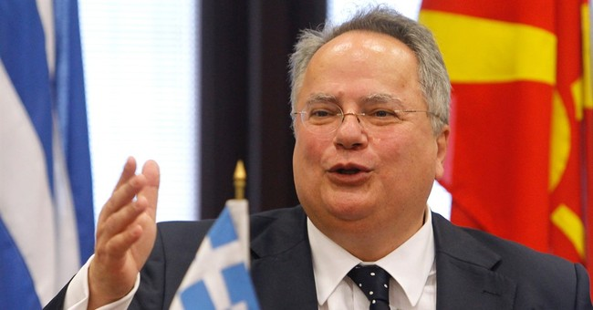 Macedonia and Greece agree to work on building confidence