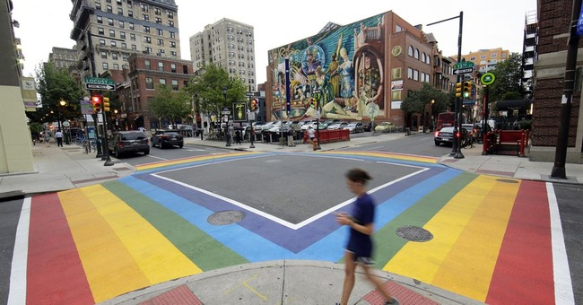 New rainbow crosswalks support Philadelphia's LGBT community