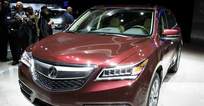 Acura recalls 106,000 MDX SUVs; pulley can fall off