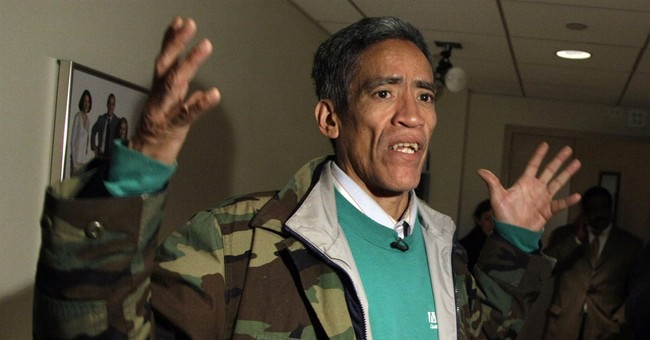 Ex-homeless man with golden voice: I'm running for president