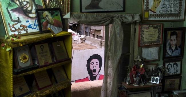 AP PHOTOS: Years of revolt, turmoil haunt Egypt's children