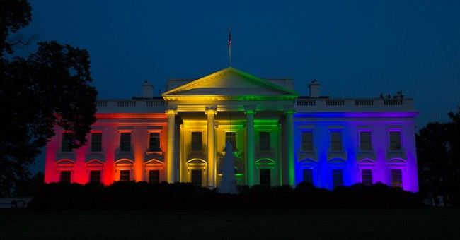 White House lit in rainbow colors after Supreme Court ruling