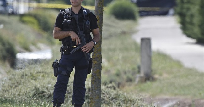 Beheading, attack at US factory in France; suspect detained