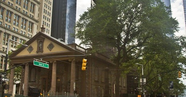 NYC church opens contest to give 9/11 sermon