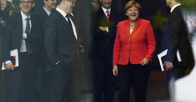 Merkel faces Greek challenge with strong political capital
