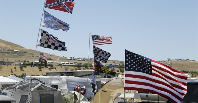Daytona offers American flags in exchange program