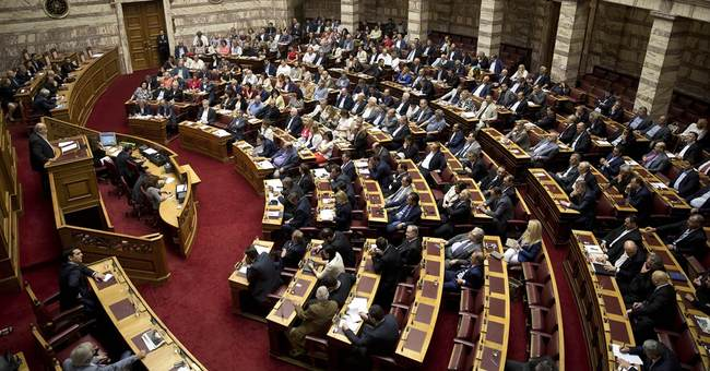 Greek parliament approves referendum on creditor reforms